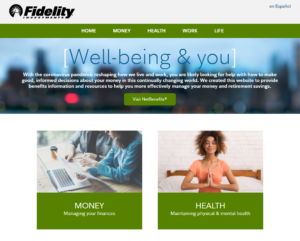 Fidelity Well-being & you