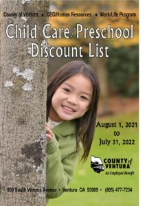 Child Care/Preschool Discount List