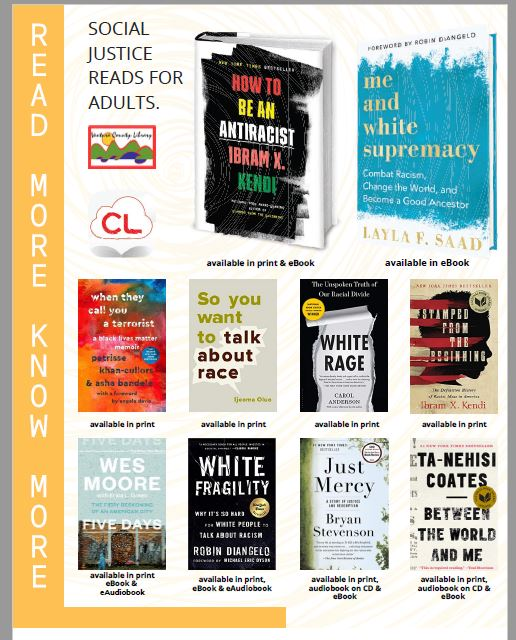 Social Justice Reads For Adults