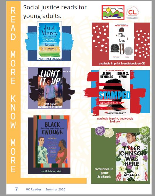 Social Justice Reads For Young Adults