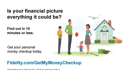 fidelity money checkup